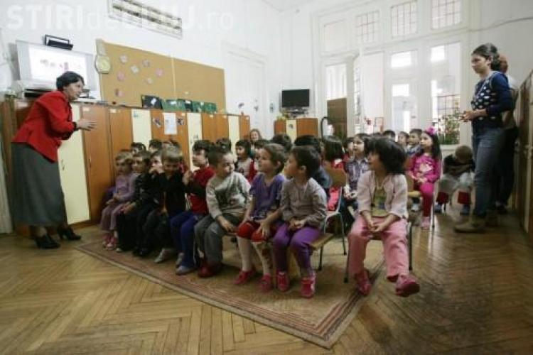 Cluj: Inscrierea copiilor in clasa pregatitoare se face de luni, 5 martie
