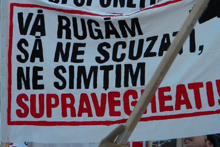 Protest ACTA la Cluj-Napoca, sambata, 25 februarie