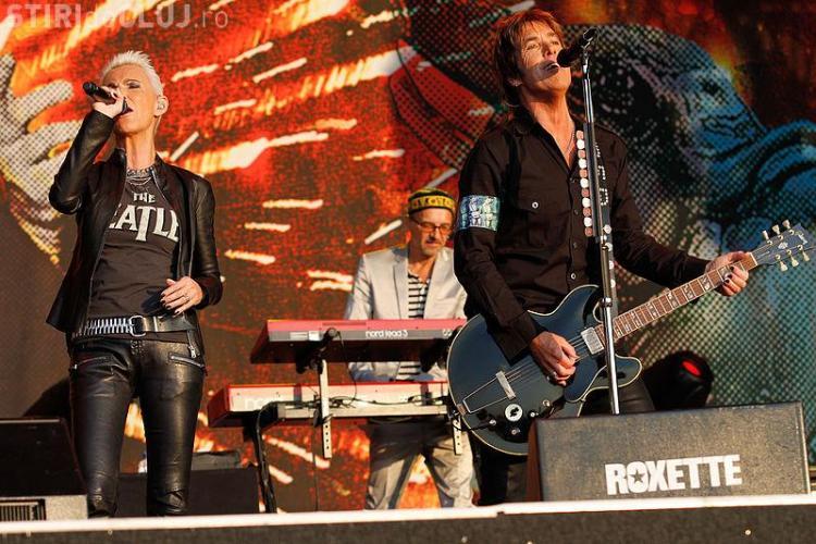 Concert Roxette la Cluj in 19 iulie! Cat costa biletele, cand se pun in vanzare si alte detalii