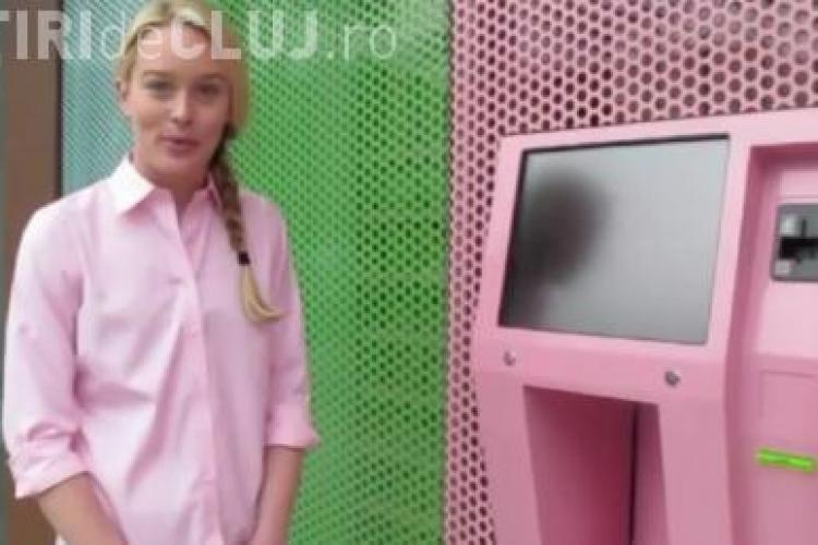 A aparut ATM-ul care da prajituri VIDEO
