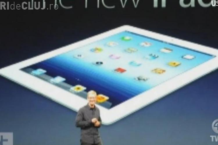 """Ecranul The new iPad este mai """"tare"""" decat cel al unui televizor HDTV VEZI cum arata VIDEO"""