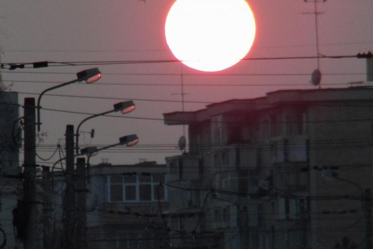 Un Soare cat tot Clujul! Vine Primavara FOTO