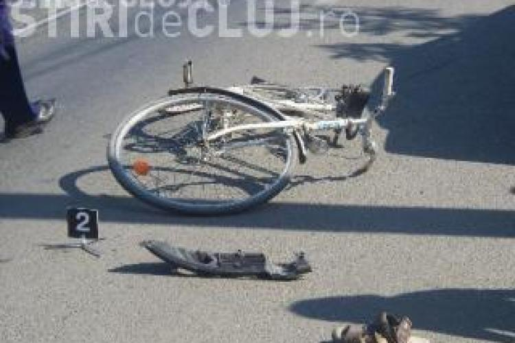 Biciclist accidentat pe strada Fabricii, in Marasti