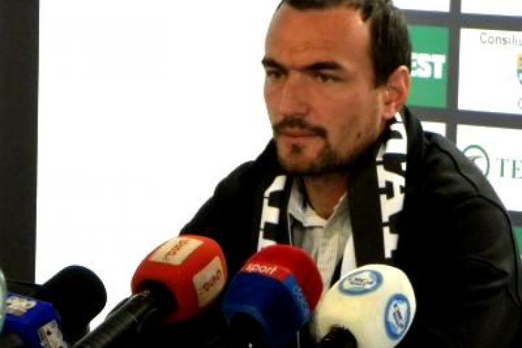 Badea, dupa remiza Rapid - U Cluj, s-a dat mai destept ca Lucescu Jr.