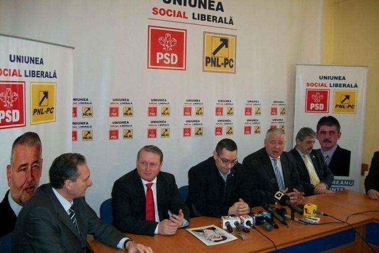 Ponta: Clujul e vazut prin prisma coruptilor Bica si Apostu