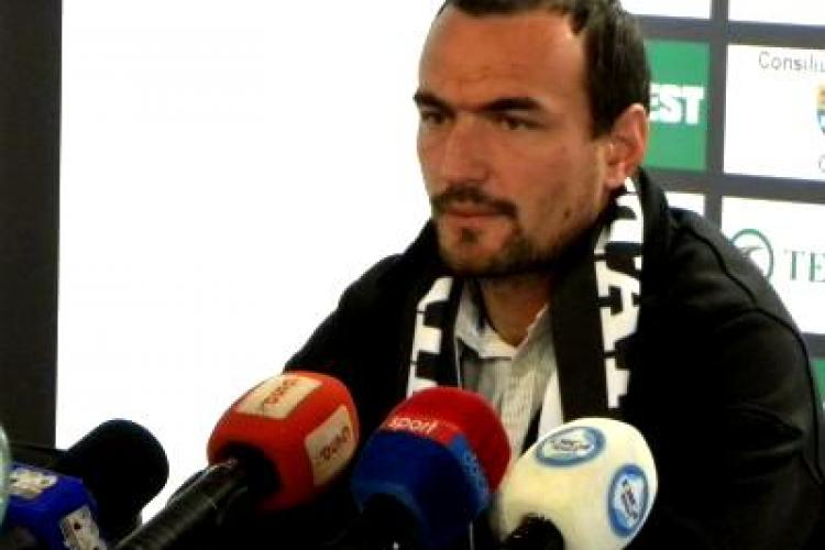 Ionut Badea a dat vina pe teren, dupa infrangerea cu Steaua: U Cluj e o echipa tehnica