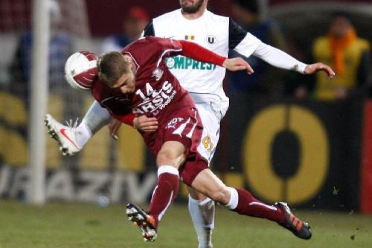 Rapid - U Cluj 1-1! Grozav a inscris un gol mare REZUMAT VIDEO