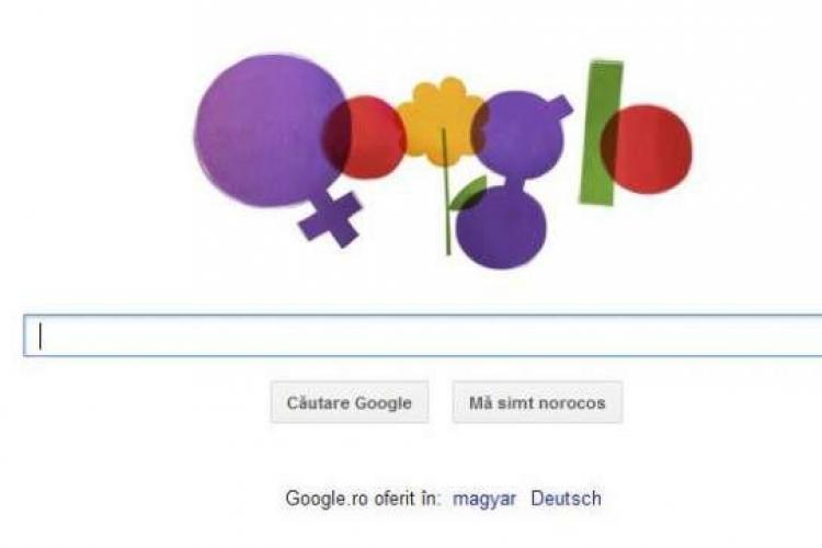 Ziua Internationala a Femeii, sarbatorita de Google