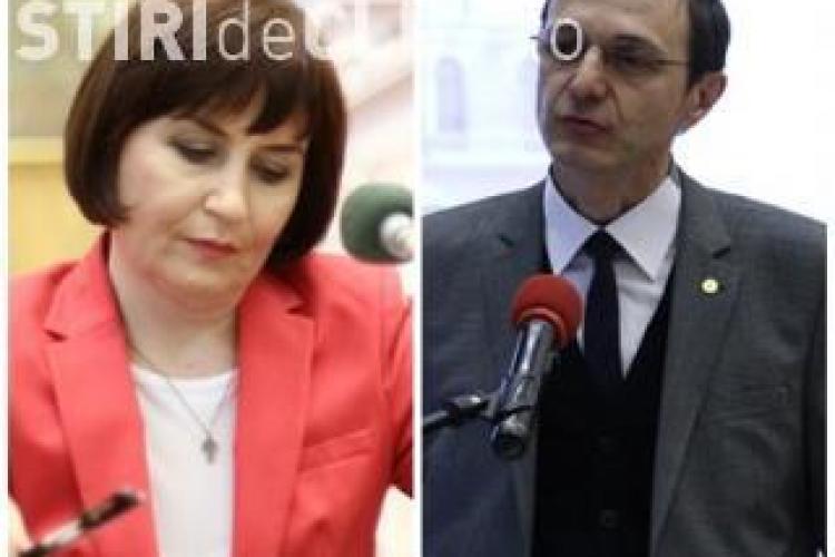 Cristina Ciumas si Ioan Aurel Pop au votat in turul 2 al alegerilor pentru sefia UBB! Vezi ce au declarat