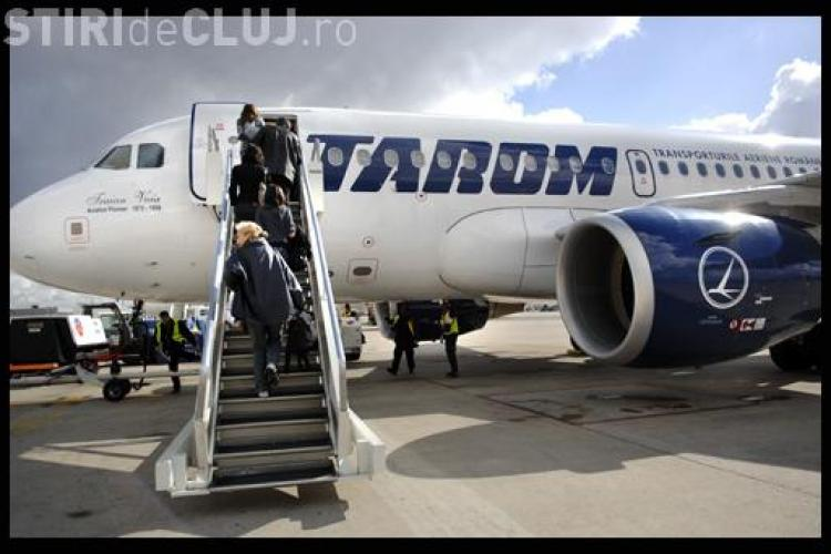 Tarom anuleaza zborul Cluj - Frankfurt, din 28 martie