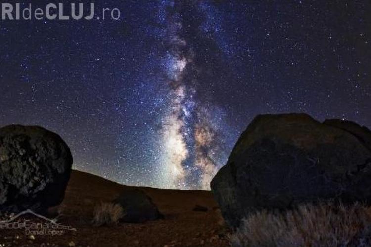 Daniel López, fotograful care a surprins cele mai frumoase imagini astronomice din 2012, in Insulele Canare VIDEO