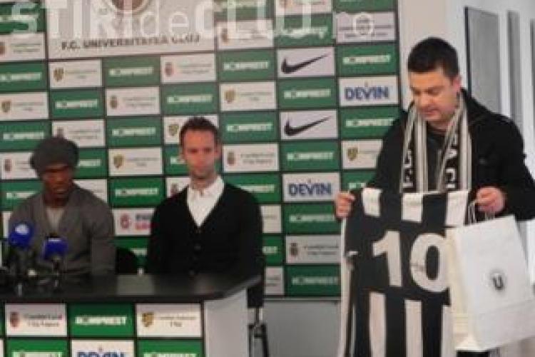 """U Cluj si FCC au donat 13.400 de lei pentru proiecte sportive si burse! banii provin din Fondul """"U pentru Cluj"""""""