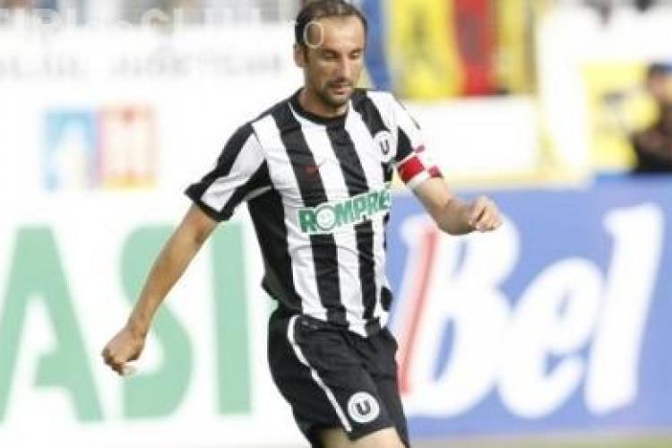 Bostina, trimis la echipa a doua a U Cluj, pentru indisciplina