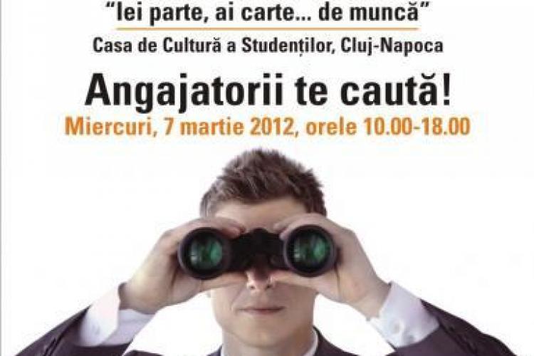 Targ de joburi la Casa de Cultura a Studentilor din Cluj-Napoca