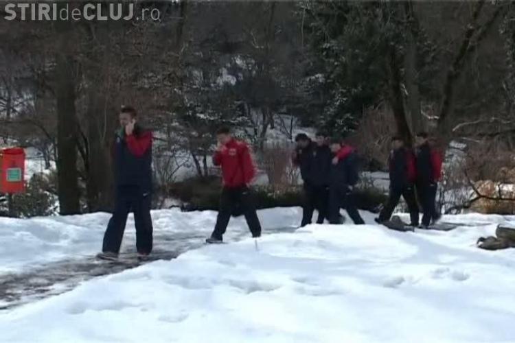 """Stelistii s-au relaxat in Gradina Botanica! Rusescu """"vanat"""" de o batranica pentru autografe VIDEO"""