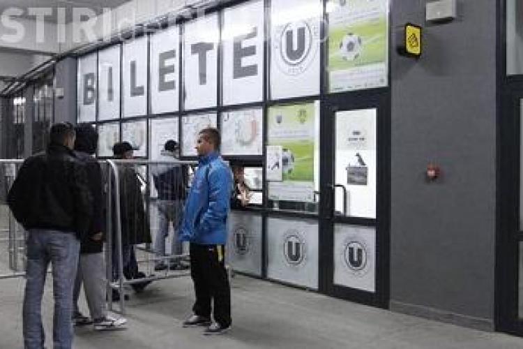 20.000 de bilete vandute la U Cluj - Steaua! Vezi unde mai sunt bilete