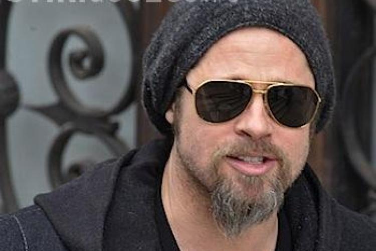 Brad Pitt, in Romania! Vezi primele imagini cu celebrul actor