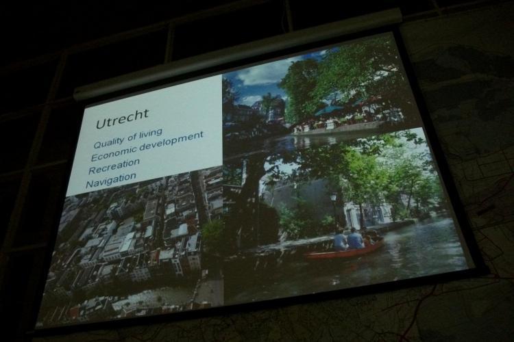 Somesul navigabil, intre cartierul Grigorescu si podul Horea! Olandezii din Utrecht dau sfaturi Primariei Cluj-Napoca