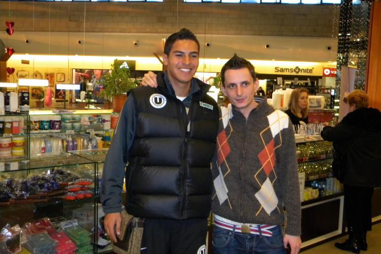 "Machado: ""Imi doresc foarte mult sa inscriu contra U Cluj"""