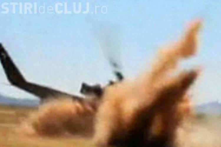Un elicopter s-a prabusit. Pasagerii sunt teferi! VIDEO