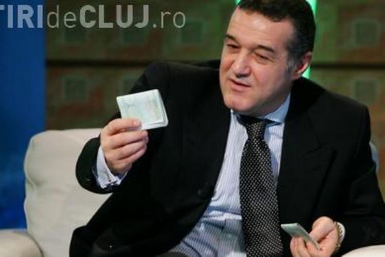 "Gigi Becali, intr-o STENOGRAMA din dosarul Valiza de la Cluj: Toni ia 500 de mii si echipa U Cluj ""unu' jumate"""