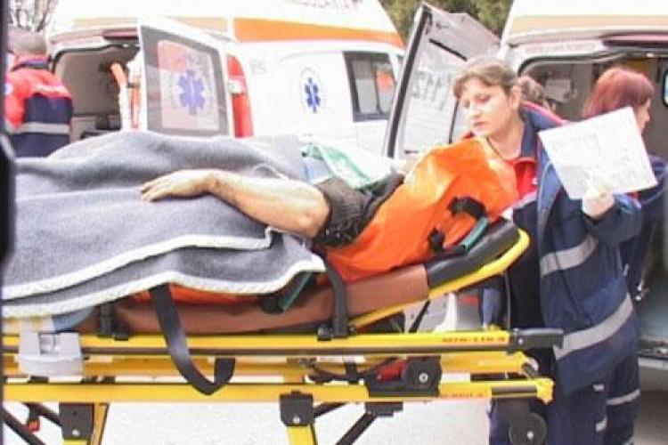 Accident de munca la Marisel! Un barbat a cazut de la inaltime