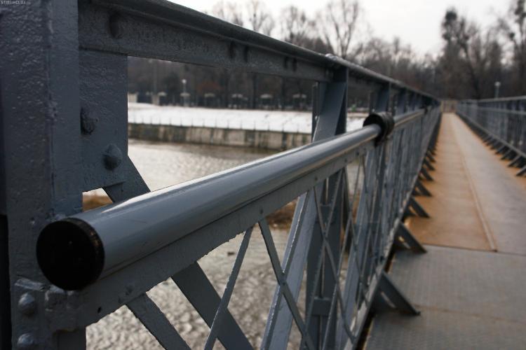 Pasarela de peste Somes, din Grigorescu, va fi Podul Zodiac FOTO