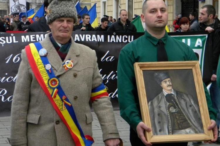 Marsul lui Avram Iancu organizat la Cluj de Noua Dreapta