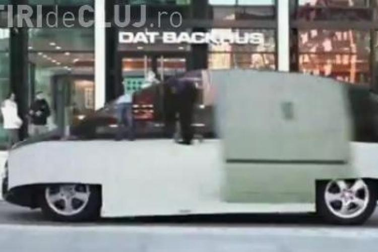 "Mercedes a construit masina ""invizibila"" VIDEO"