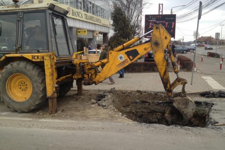 "E-ON Gaz a ""performat"" in Cluj si a facut 558 de gropi! VEZI lista drumurilor"