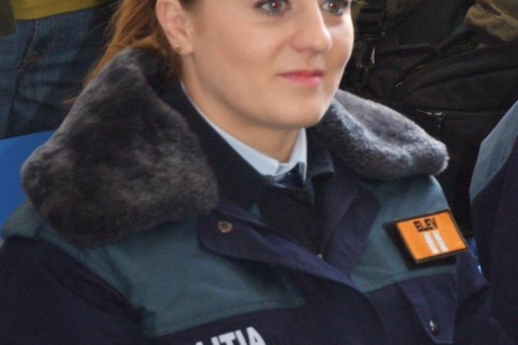 Corina Caprioriu, campioana mondiala la judo, a dat de pamant cu elevii de la Scoala de Politie Cluj VEZI FOTO