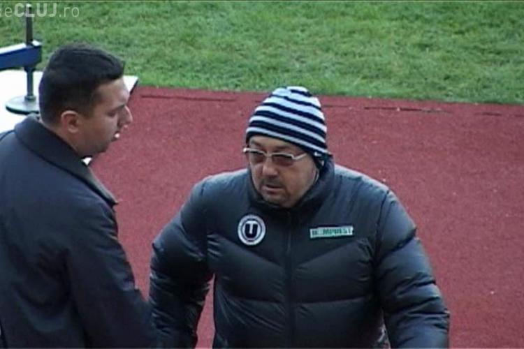 Demisie la U Cluj! Cosmin Irimies si Calin Hintea l-au lasat singur pe Walter