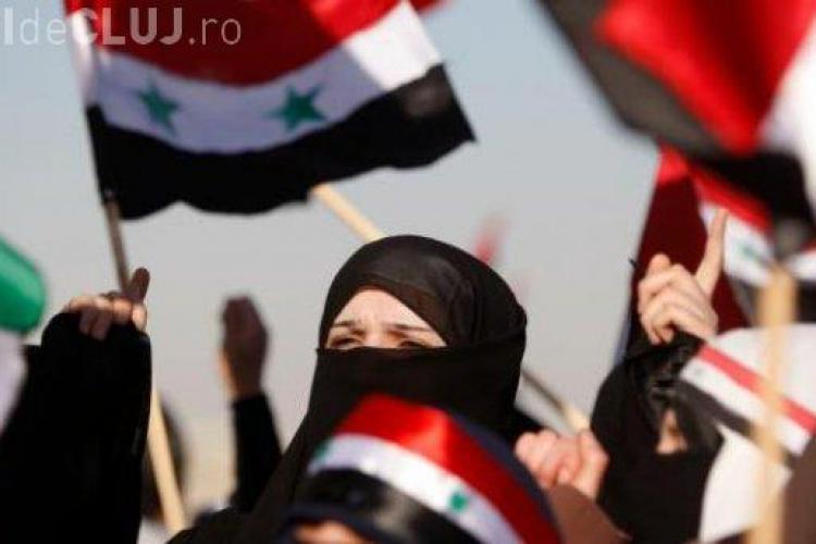 Clujenii protesteaza sambata la Cluj impotriva victimelor din Siria