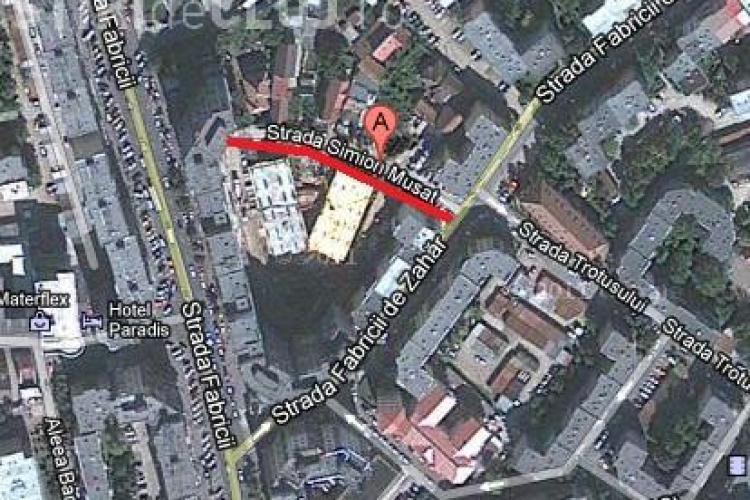 Strada Simion Musat din Marasti va fi asfaltata! Drumul asigura accesul in Parkingul de pe Fabricii de Zahar