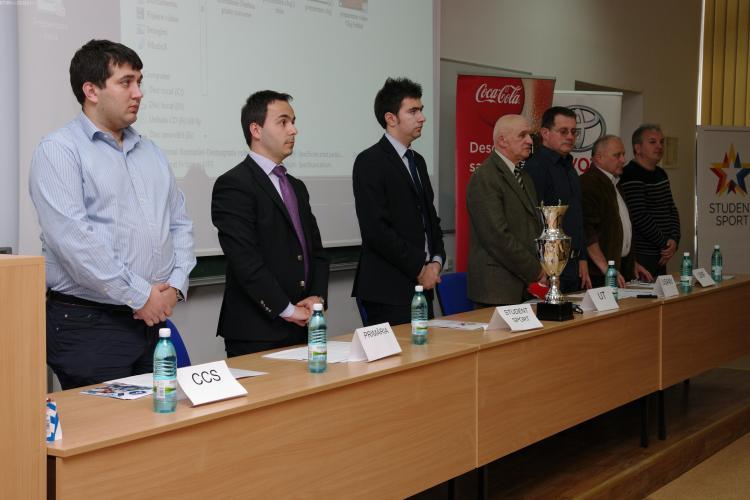 Campionatul National Universitar de Fotbal a inceput la Cluj