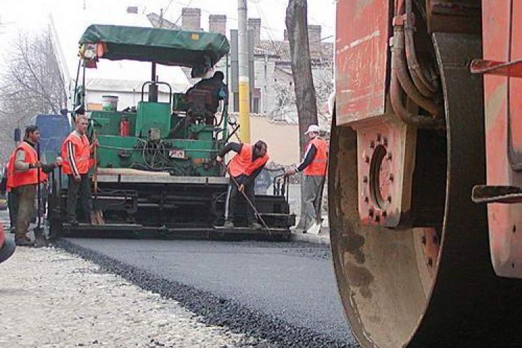 Strada Frasinului, asfaltata de Primaria Cluj-Napoca in 2 luni