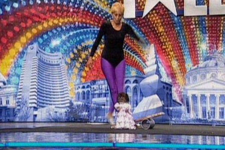 La 54 de ani, a aratat cat este de flexibila la Romanii au talent VIDEO