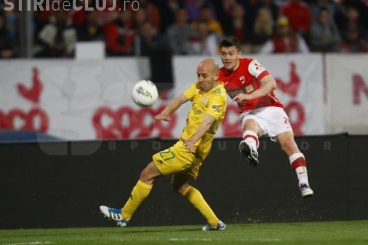 Dinamo - FC Vaslui 0-1! CFR Cluj ia avans daca bate Otelul