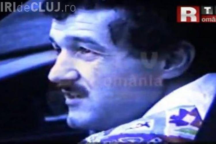"""Cum arata Gigi Becali, in 1990! Vezi un film in care se mandrea cu """"noul Mercedache""""! VIDEO"""