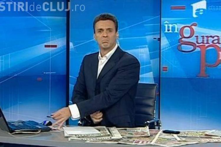 """Mircea Badea a cantat la laptop in emisiunea """"In gura presei""""  VIDEO"""