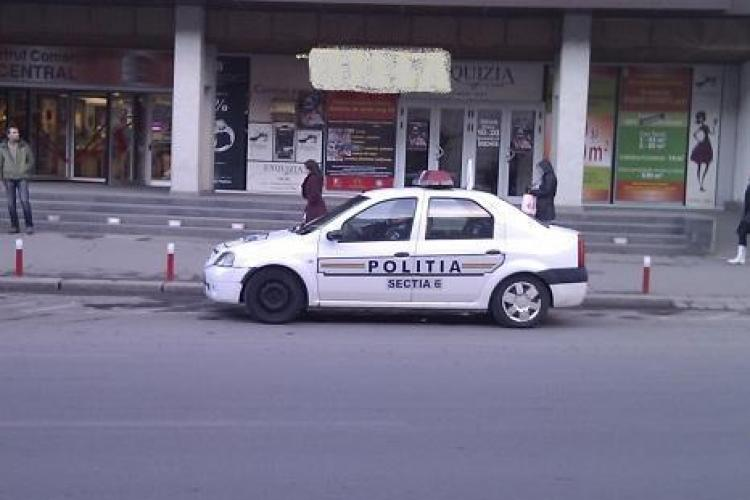 "Politistii parcati neregulamentar in fata la Central erau in ""misiune"""