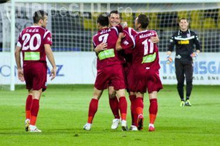 CFR Cluj, lider in Liga 1! Vezi ce a facut Dinamo
