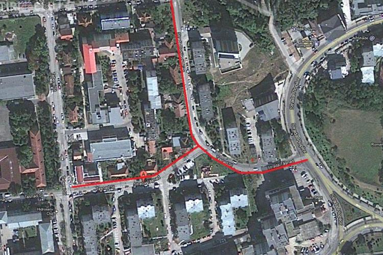 Strazile Tasnad si Portile de Fier intra in reparatii capitale