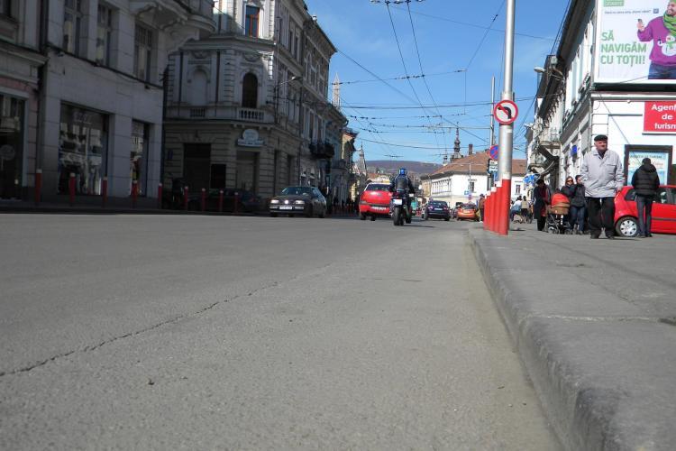 Cluj: Incepe curatenia la bordura. Vezi strazile pe care se intervine