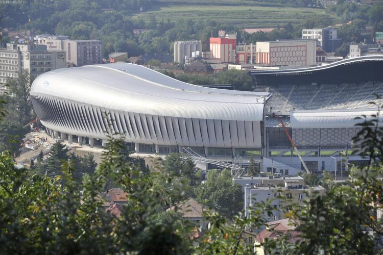 Stadionul Cluj Arena are un site oficial! Tise isi face reclama pe fata FOTO