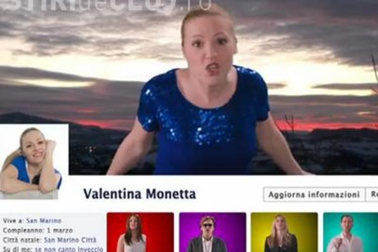 Cantec despre Facebook, la Eurovision 2012 VIDEO