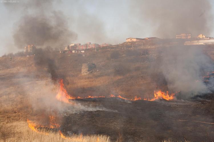 Recomandari IPJ Cluj: Nu provocati incendii decat cu respectarea prevederilor legale