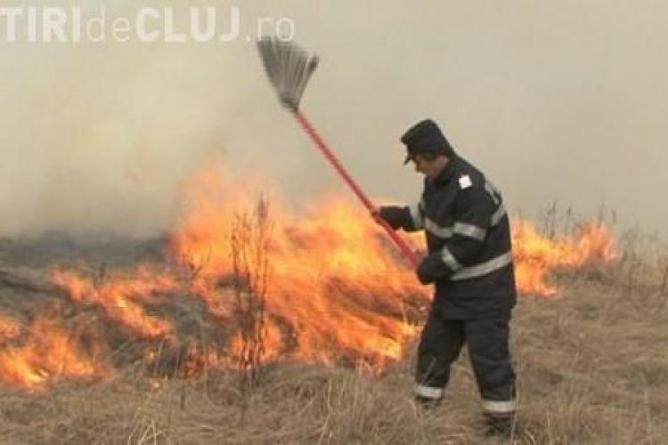 Incendiu la Sic! Au ars 80 de hectare de padure. Focul s-a extins si la Rezervatia Naturala Stufarisurile VIDEO
