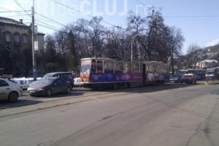 Restrictii de circulatie pe podul Horea, din cauza lucrarilor la linia de tramvai! VEZI ce strazi se inchid