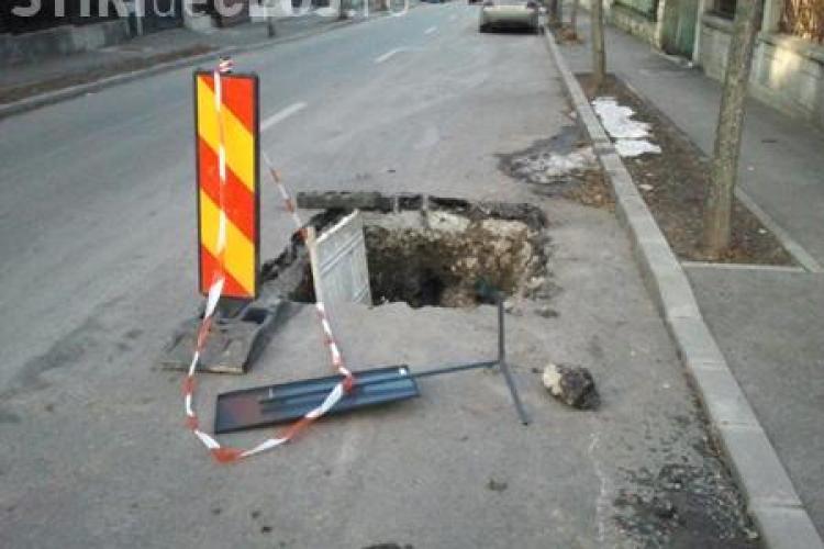 """Clujul """"ciuruit"""" de E-ON Gaz!  """"Stop destroying Cluj-Napoca!"""" - Scrie-le AICI sefilor E-ON Gaz din Germania"""